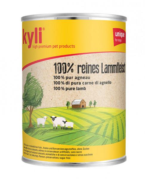 100 % reines Lammfleisch