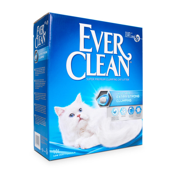 Ever Clean Unscented Extra Strong Clumping 10l