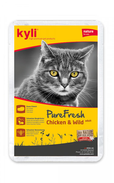 Pure Fresh Chicken & Wild adult 12 x 85g