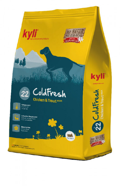ColdFresh Nr. 22 Chicken & Trout adult 26 / 10 15kg