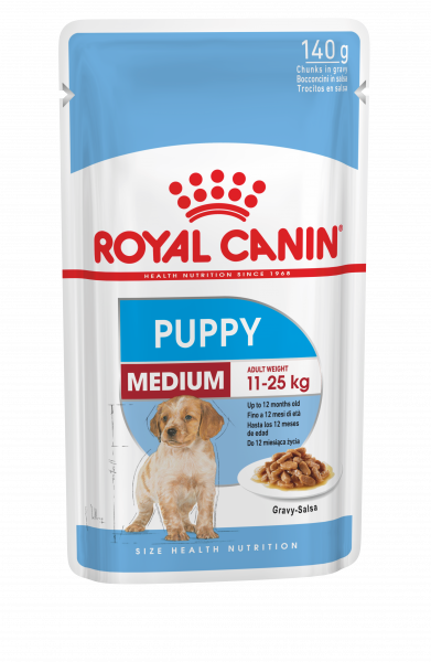 Royal Canin Medium Puppy 10 x 140g
