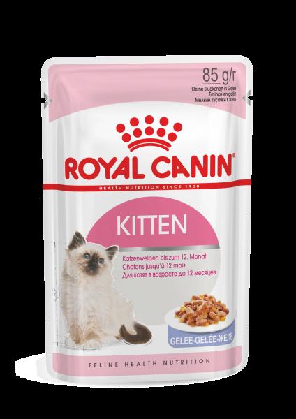 Royal Canin Kitten Instinctive (Gelee) 12 x 85g